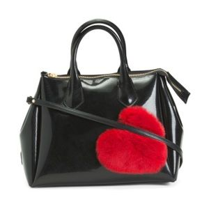 Gianni Chiarini Heart Satchel NWT Bag ♥️